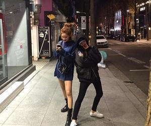 girl, asian, and night image