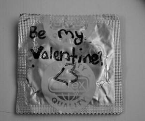 b&w, valentine, and sex image