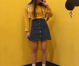 yellow, alternative, and fashion image