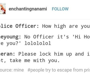 mystic messenger, funny, and 707 image
