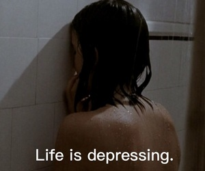 depressed and life image