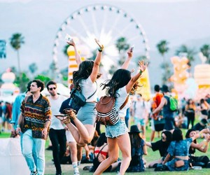 coachella and girls image