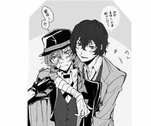 anime, chuuya, and dazai image