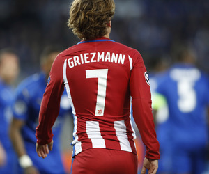 7, atletico madrid, and antoine griezmann image