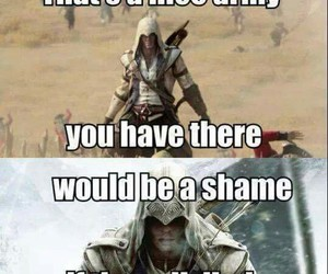 america, army, and Assassins Creed image
