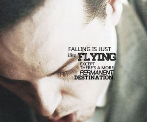 fall, fly, and quotes image