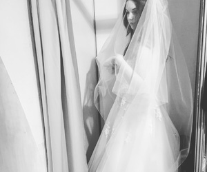 beautiful, style, and bride dress image