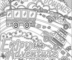 cars, doodles, and enjoy image