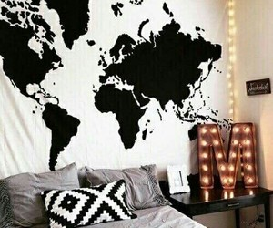 room, bedroom, and world image