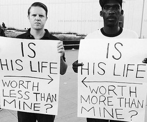 life, black, and racism image