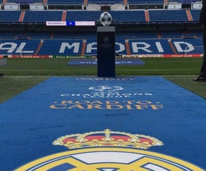football, real madrid, and ucl image