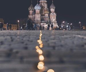 architecture, kremlin, and moscow image
