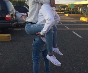 couple, love, and converse image