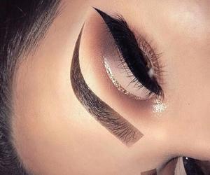 makeup, make, and eyeliner image