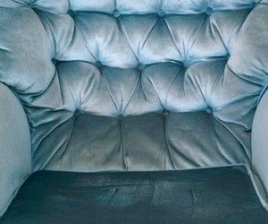 goals, armchair, and blue image