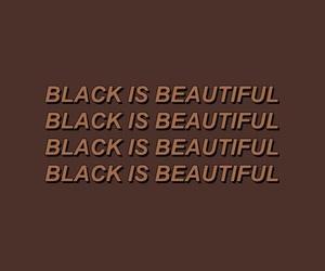 beautiful, black, and empowerment image