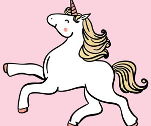 unicorn, girly, and pink image
