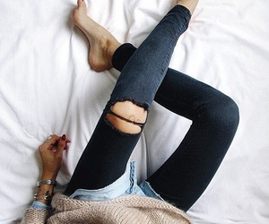 girl, skinny, and outfit image