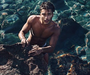 boy, toni mahfud, and sea image