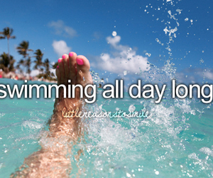 summer, swimming, and sea image