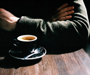 coffee, man, and cup image