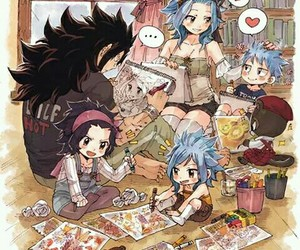 anime, fairy tail, and gajeel image