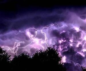 sky, purple, and nature image