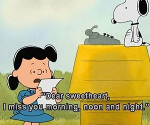 charlie brown, quotes, and love image