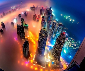nigth and city image