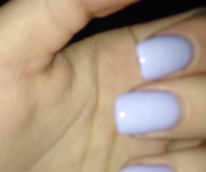 gel, nails, and lilac image