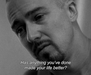 american history x, black and white, and quotes image