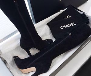 shoes, chanel, and luxury image