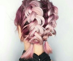 hairstyle and rose gold image