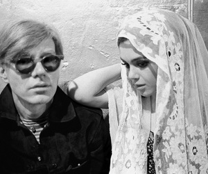 andy warhol, edie sedgwick, and muse image
