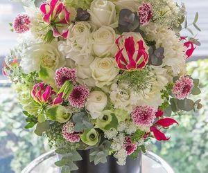 bouquets, floral arrangement, and home decor image