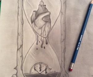 art, artist, and clock image