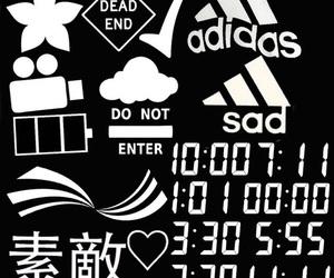 overlay, edit, and adidas image
