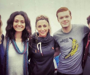 emmy rossum, cameron monaghan, and ian gallagher image