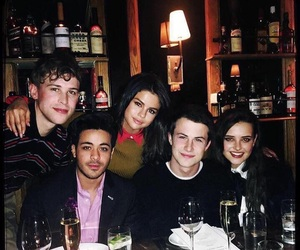 selena gomez, 13 reasons why, and clay jensen image