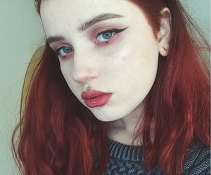 aesthetic, alternative, and dyed hair image