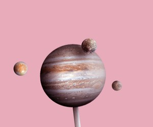 galaxy, lollipop, and pink image