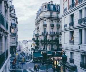 city, travel, and paris image