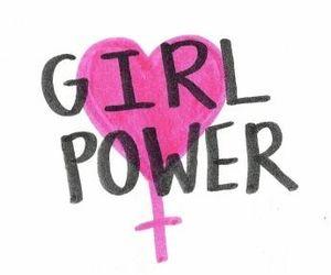 girl, girl power, and pink image