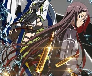 sao, anime, and kirito image