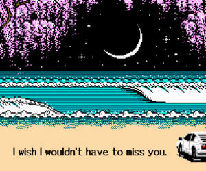 pixel, tumblr, and i miss you image
