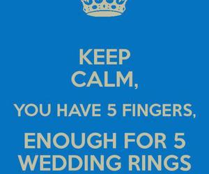 fingers, rings, and wedding image