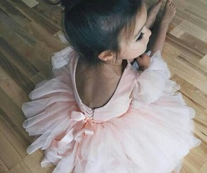 ballet, girl, and rose image