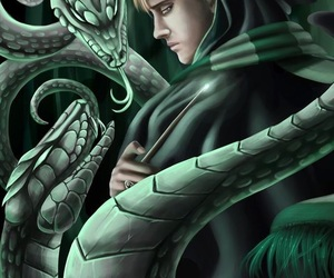 slytherin and draco image