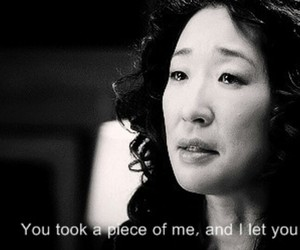 grey's anatomy and cristina yang image
