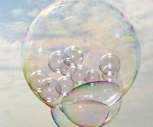 bubbles and sky image